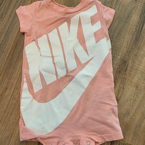 Baby Girl Nike Onesie